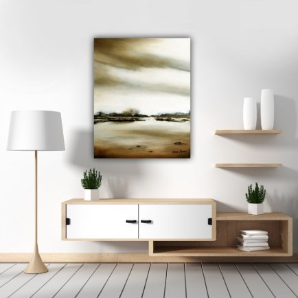 """Silent Waters"" Sepia"